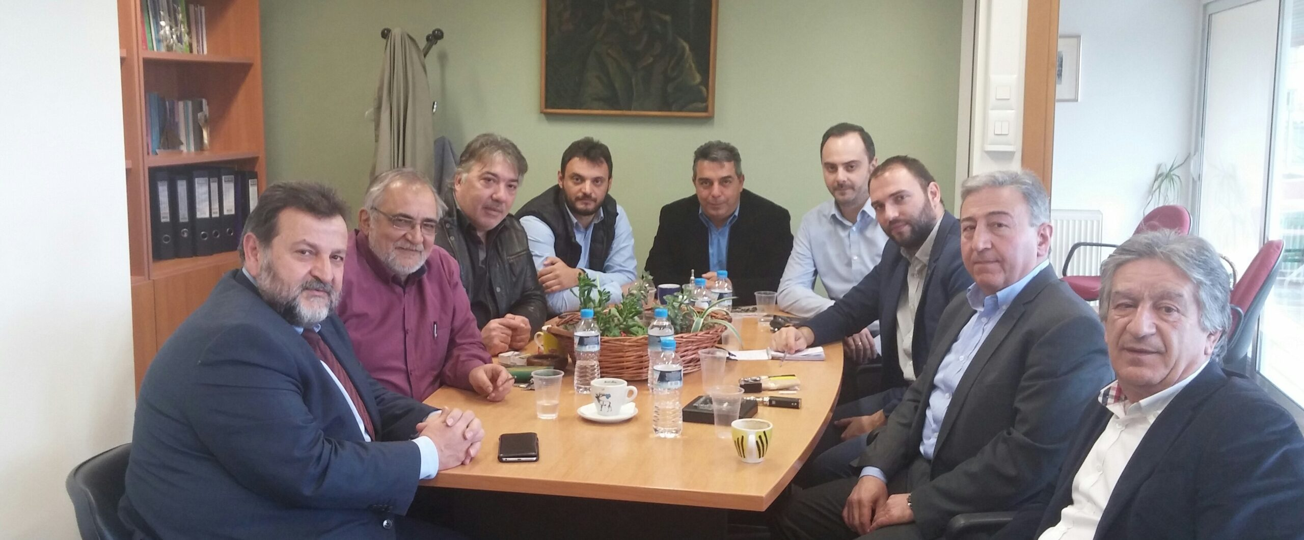 Επίσκεψη του Β. Κεγκέρογλου στο Ε.Κ.Θ.