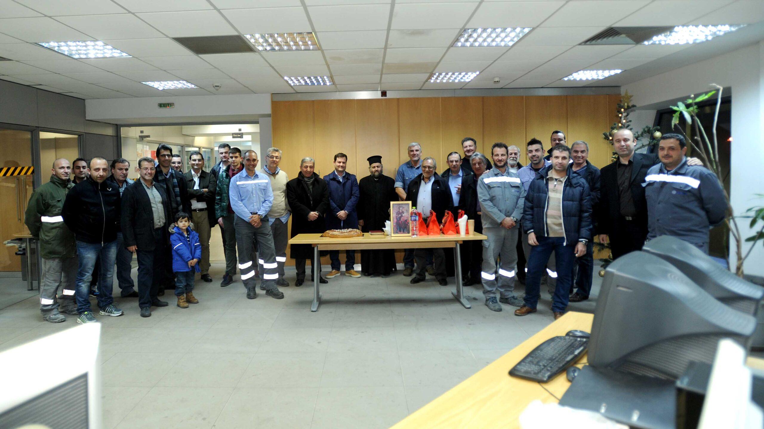 Το ΕΚΘ δίπλα στους εργαζόμενους και το βράδυ της παραμονής Πρωτοχρονιάς