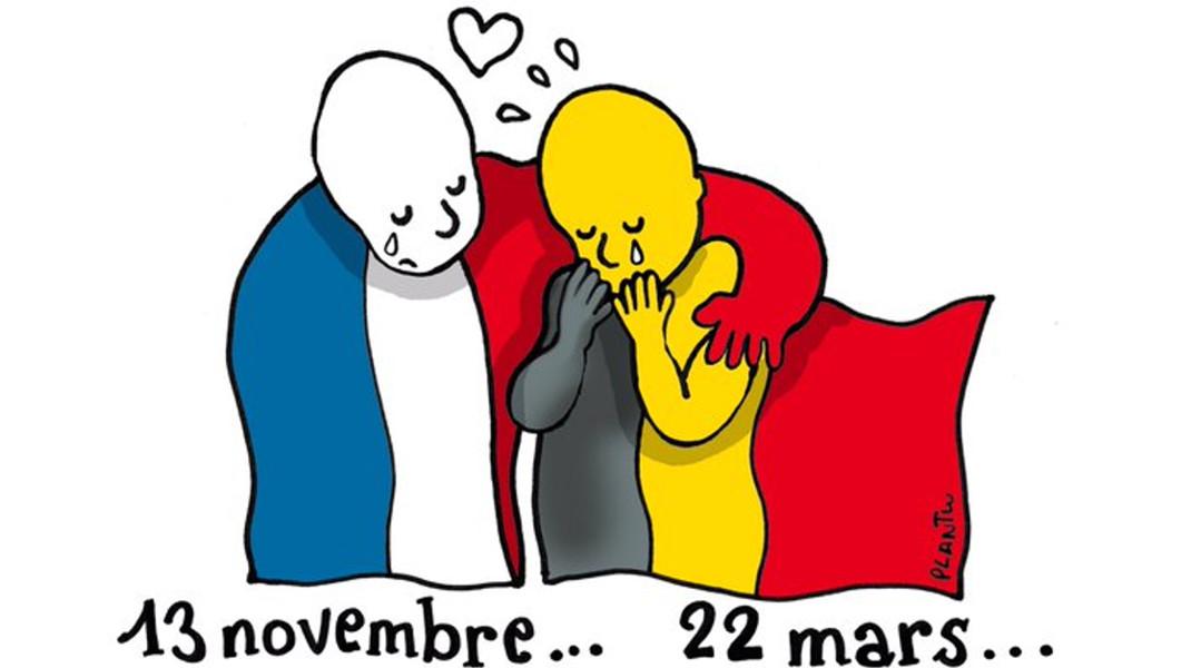Θλίψη και αποστροφή για τα τρομοκρατικά χτυπήματα στις Βρυξέλλες