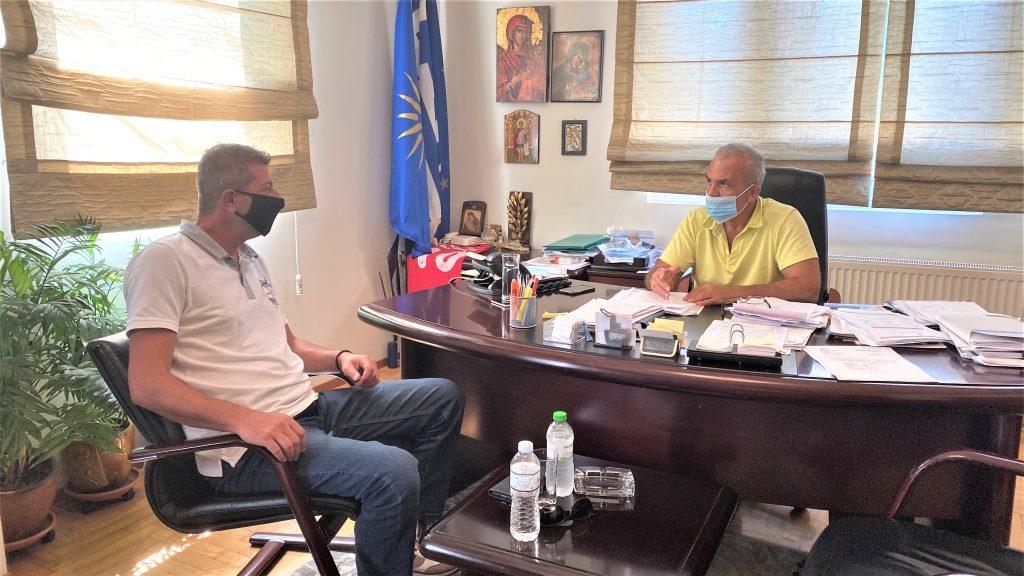 Συνάντηση του προέδρου του ΕΚΘ με τον Δήμαρχο Δέλτα