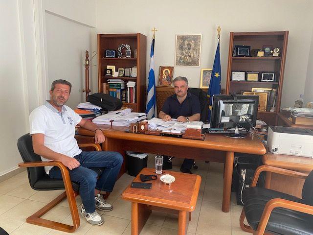 Συνάντηση Προέδρου ΕΚΘ με τον Δήμαρχο Βόλβης